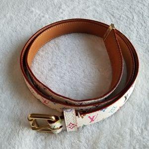 Louis vuitton Multicolored belt. Authentic!